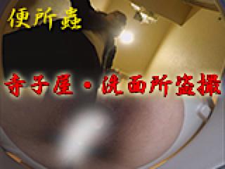おまんこ丸見え:寺子屋・洗面所盗SATU:おまんこパイパン