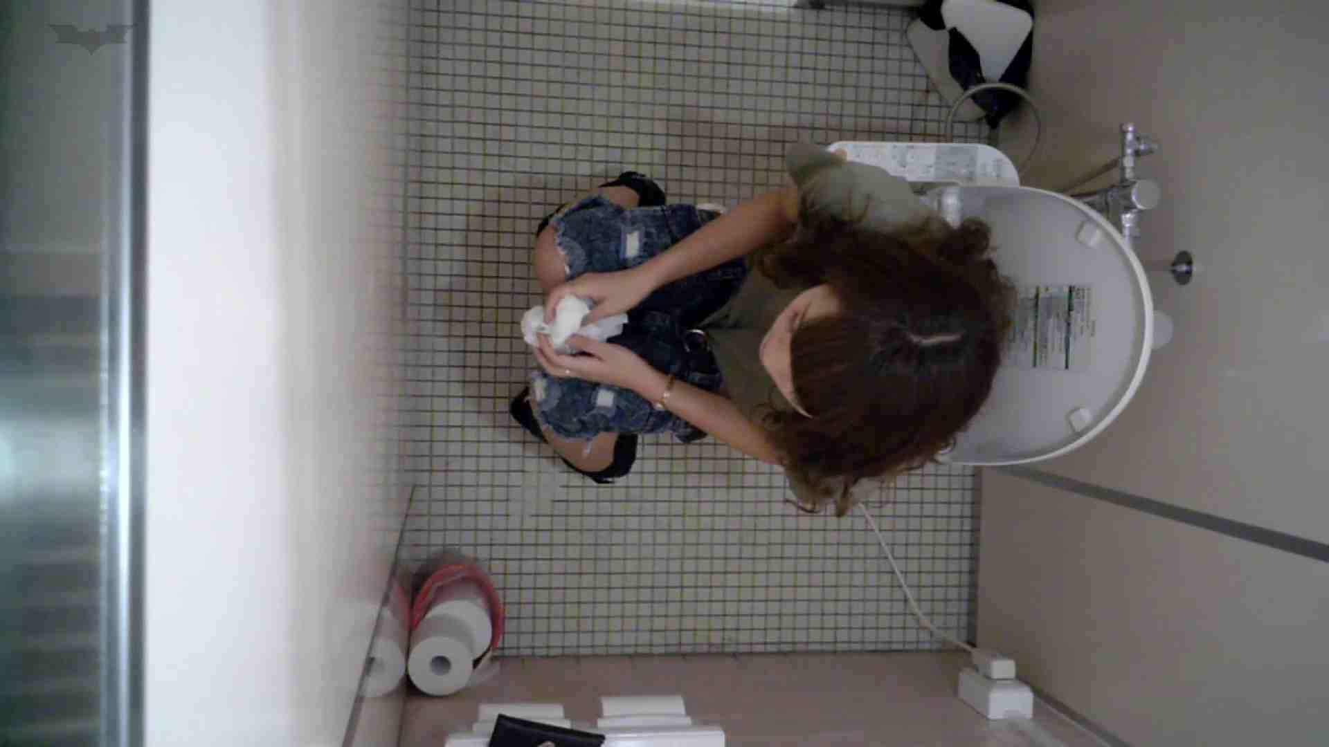 有名大学女性洗面所 vol.50 個室には3つの「目」があるみたいです。 排泄 | 洗面所  94連発 19