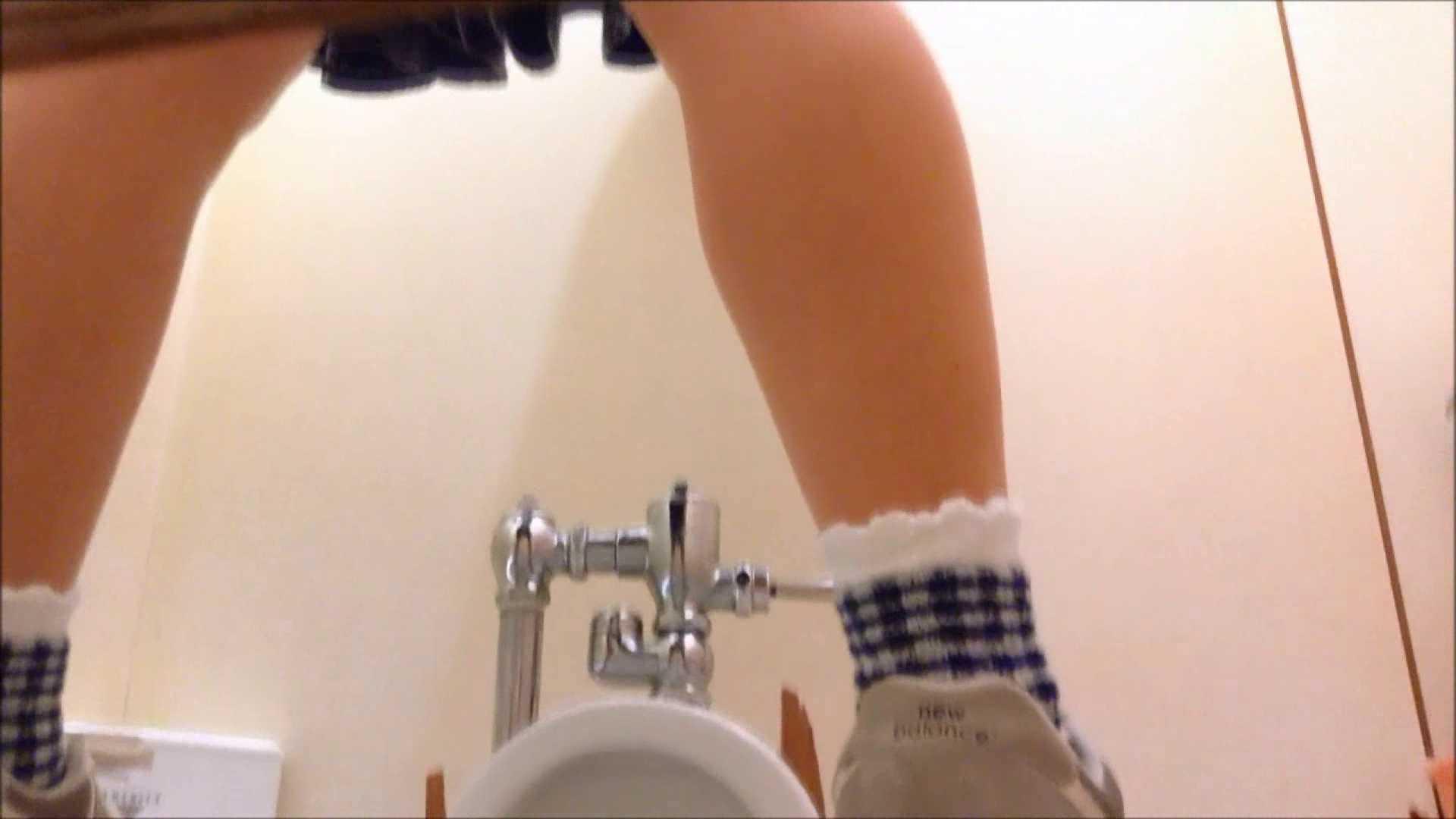 某有名大学女性洗面所 vol.17 和式で踏ん張り中 のぞき動画画像 107連発 89