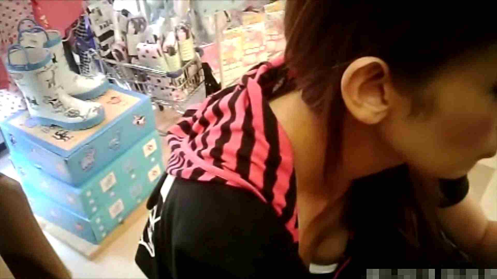 NO.6 雑貨屋で買い物中のガーリーな女の子 チラ  100連発 76
