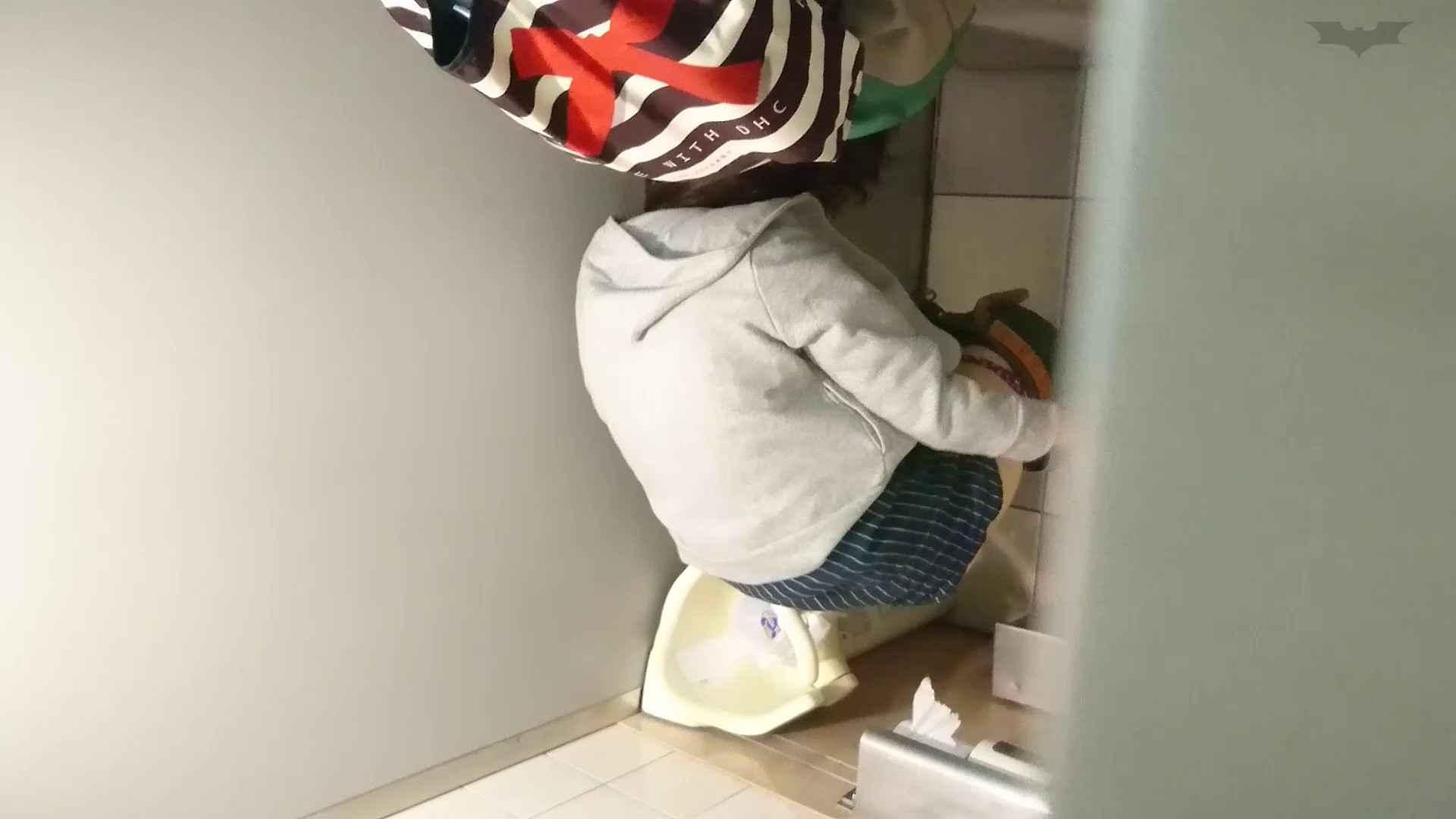 おまんこ丸見え:化粧室絵巻 ショッピングモール編 VOL.23 若いギャルが登場!:怪盗ジョーカー