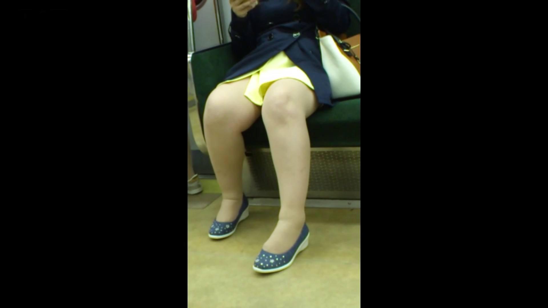 盗撮列車 Vol.54 春色の黄色のスカート エッチすぎるOL達  88連発 18