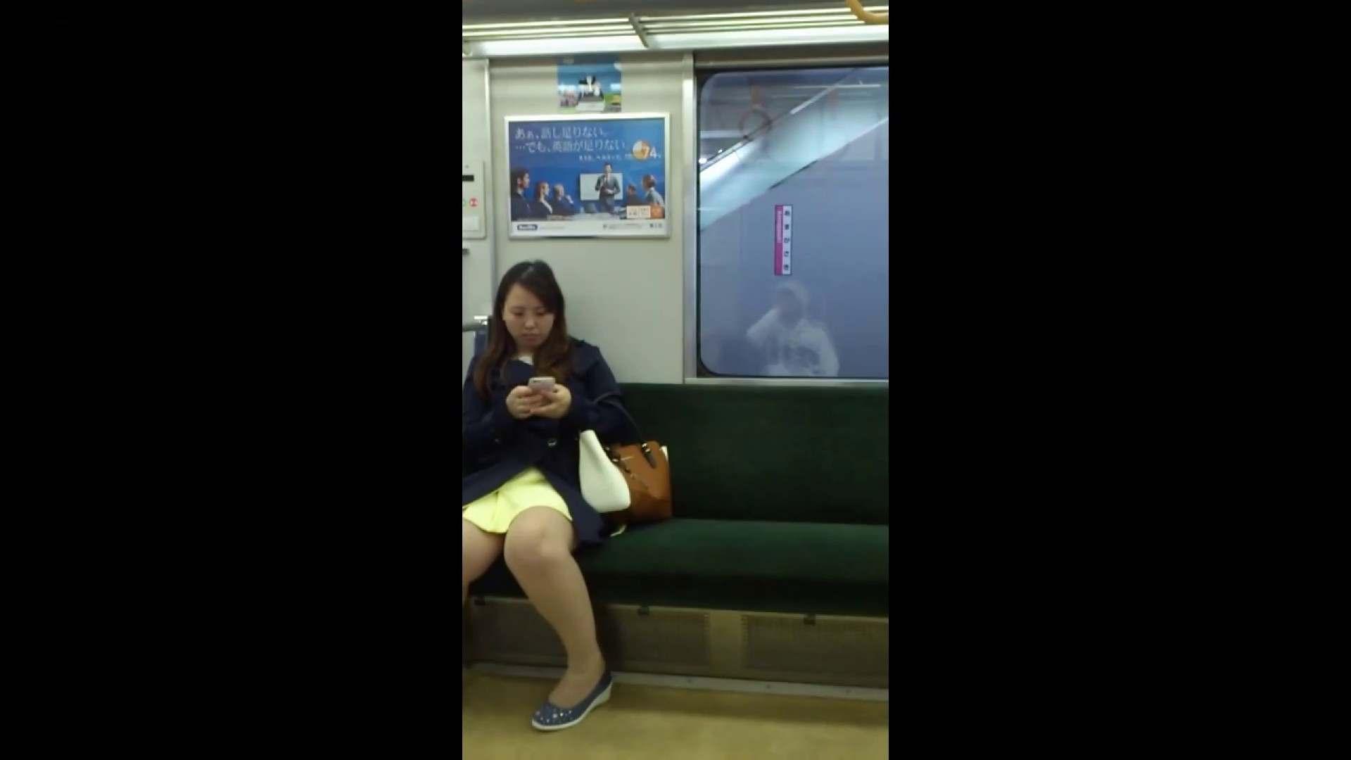 盗撮列車 Vol.54 春色の黄色のスカート 車 スケベ動画紹介 88連発 80
