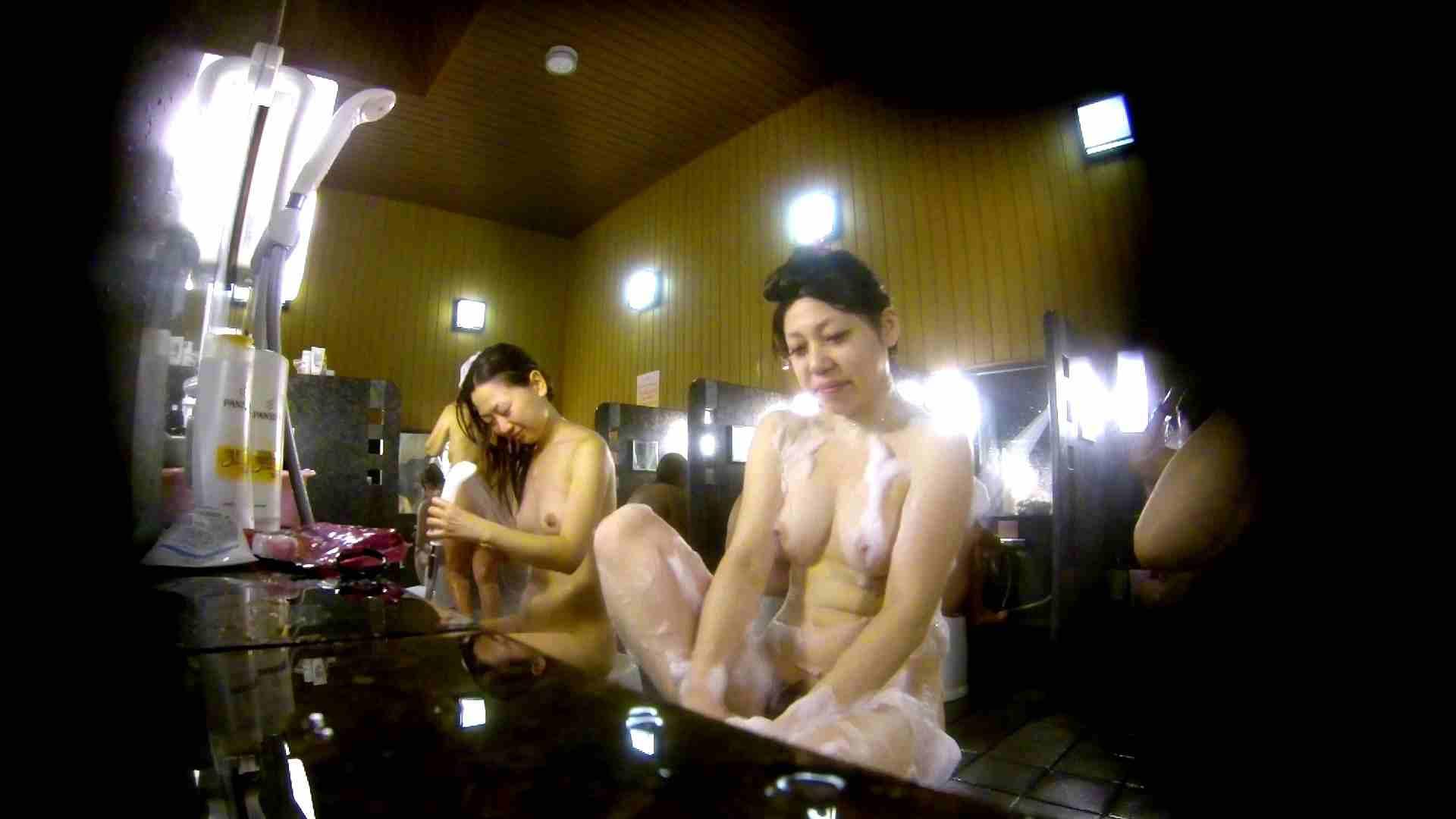 洗い場!柔らかそうな身体は良いけど、歯磨きが下品です。 銭湯特撮 | エロくん潜入  39連発 29