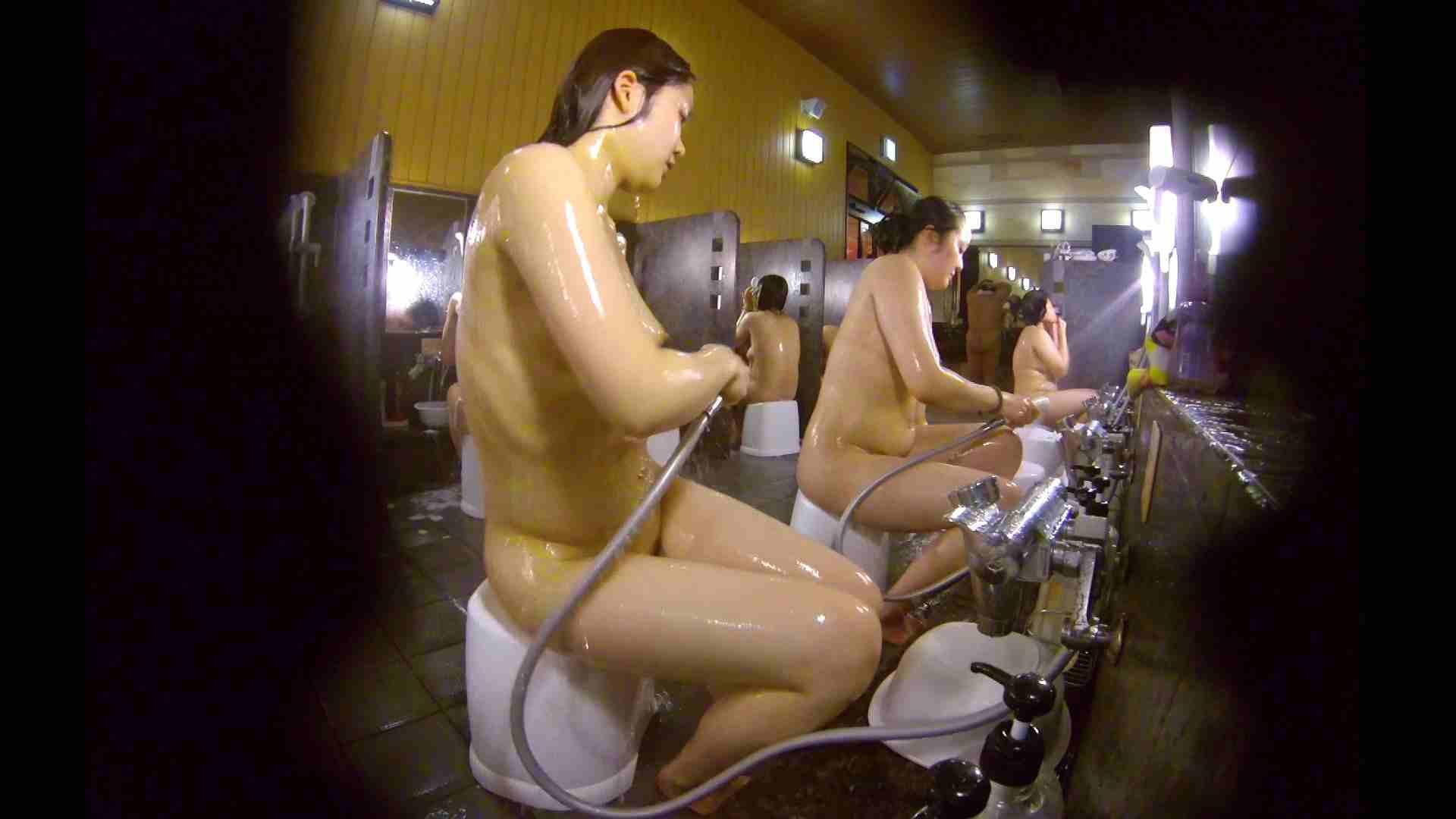 洗い場!ムッチリの2人組。美女ではないですが、触りたくなる体つき エロくん潜入   銭湯特撮  17連発 4