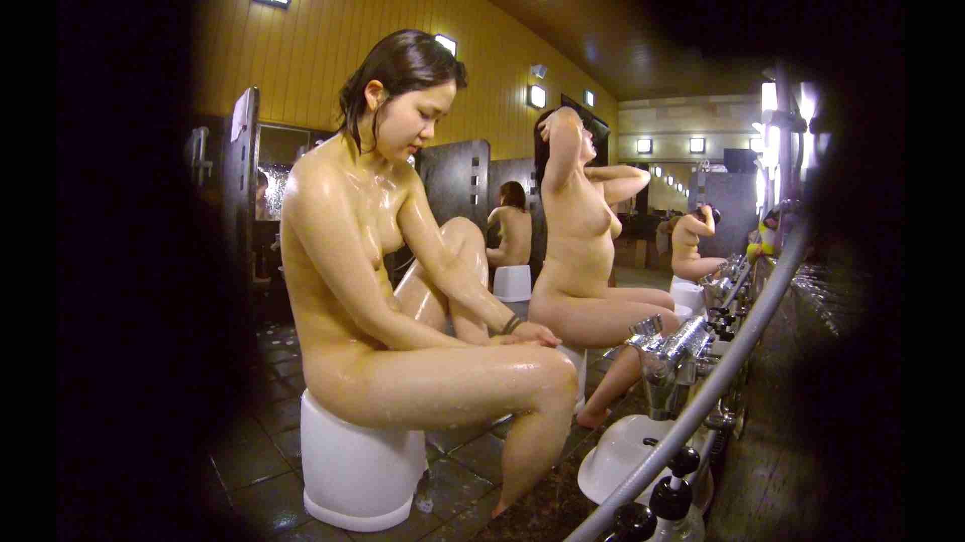 洗い場!ムッチリの2人組。美女ではないですが、触りたくなる体つき エロくん潜入  17連発 15
