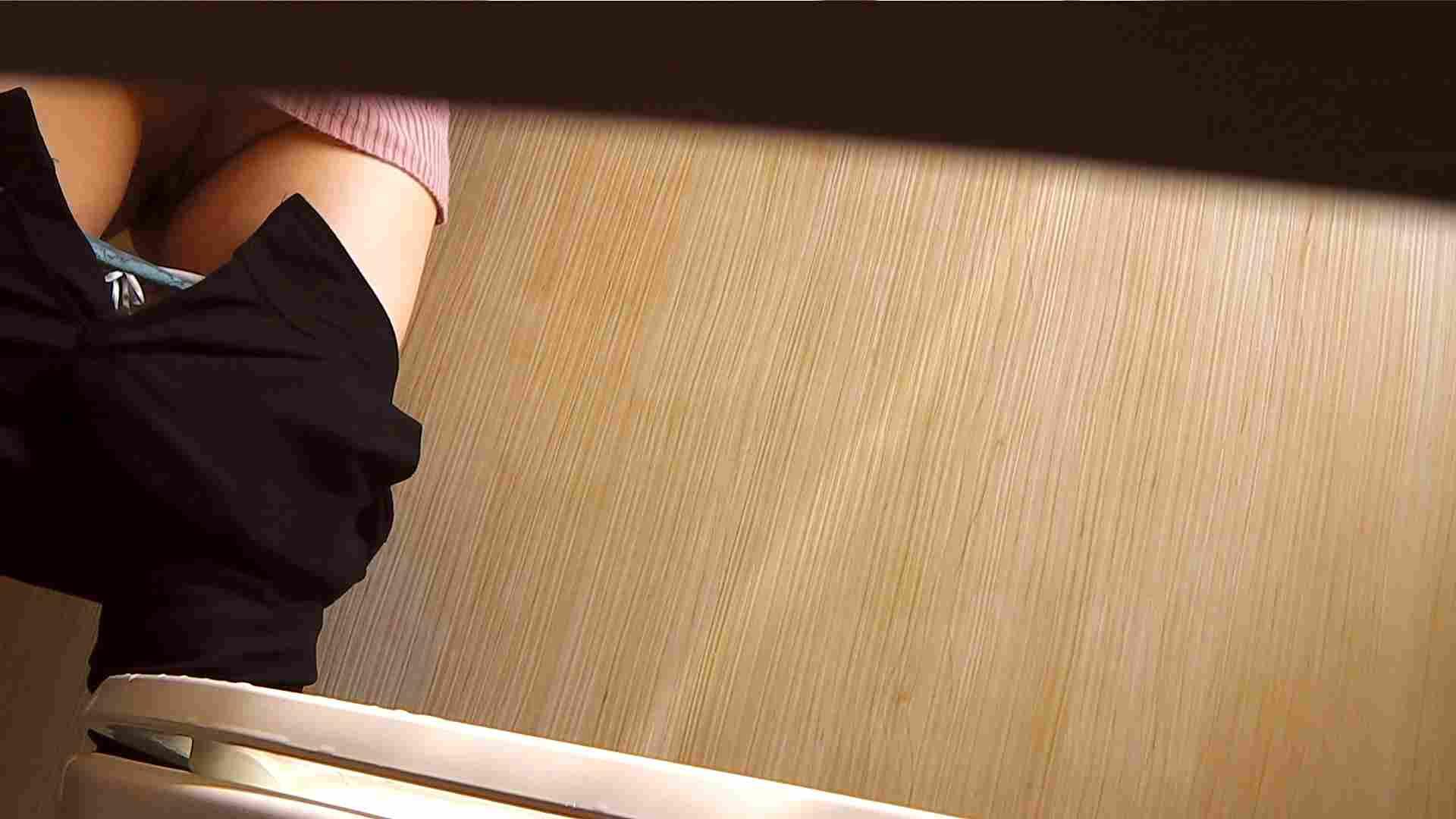 阿国ちゃんの「和式洋式七変化」No.1 洗面所   和式で踏ん張り中  50連発 27