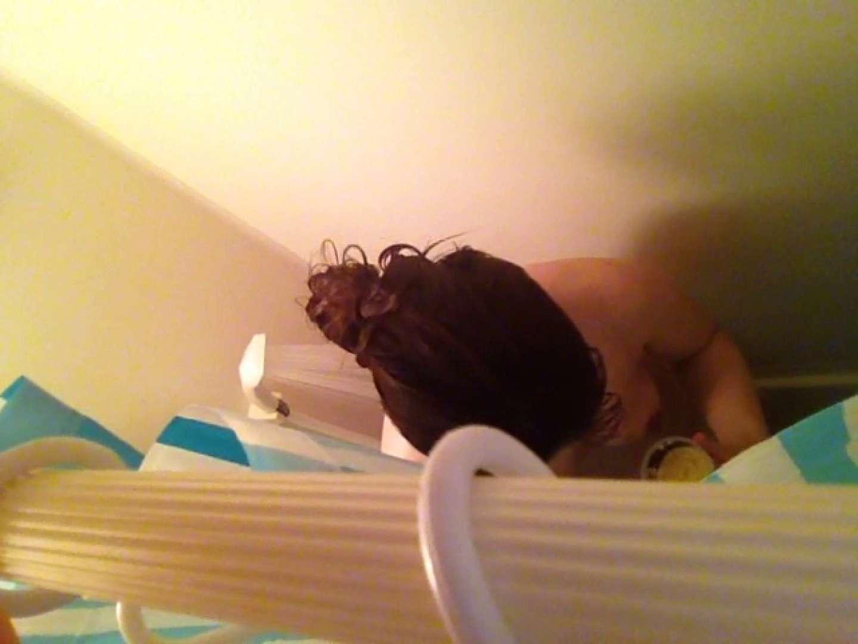 11(11日目)上からシャワー中の彼女を覗き見 覗き | シャワー  95連発 39