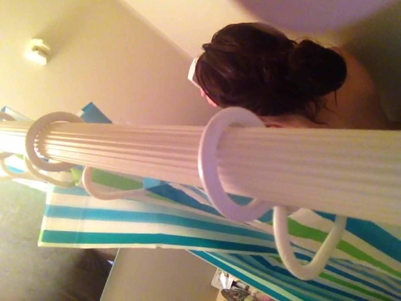 11(11日目)上からシャワー中の彼女を覗き見 覗き  95連発 56