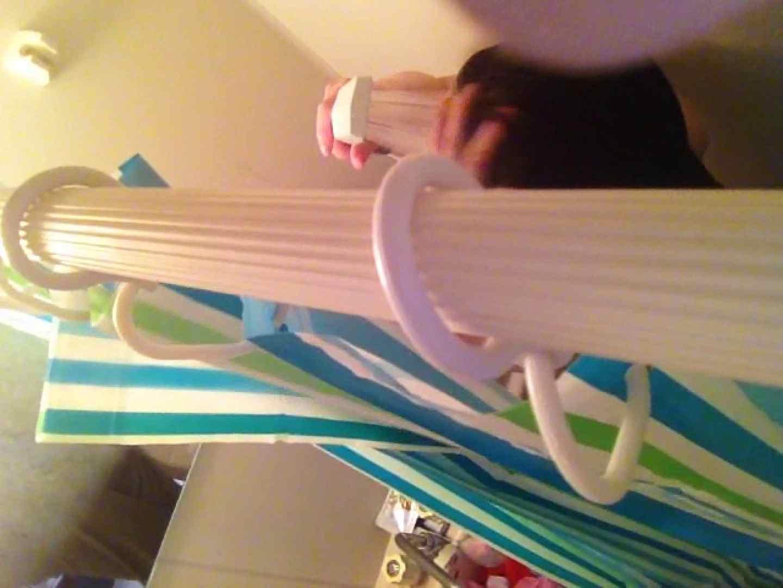 11(11日目)上からシャワー中の彼女を覗き見 覗き | シャワー  95連発 73