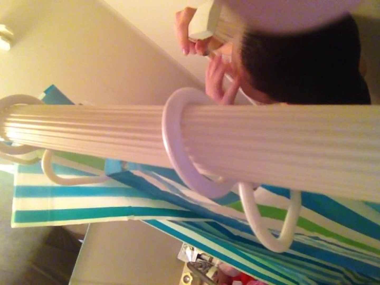 11(11日目)上からシャワー中の彼女を覗き見 覗き  95連発 80