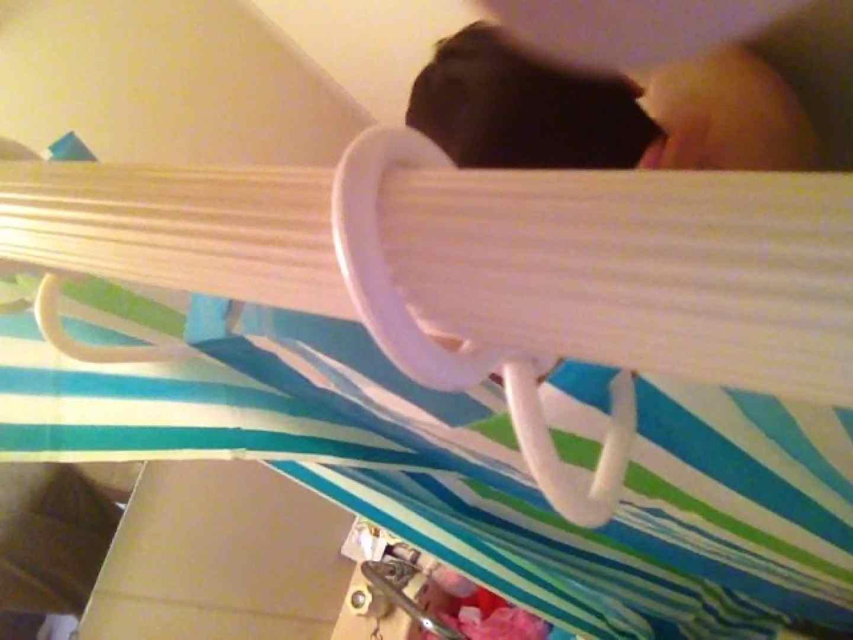11(11日目)上からシャワー中の彼女を覗き見 覗き | シャワー  95連発 87