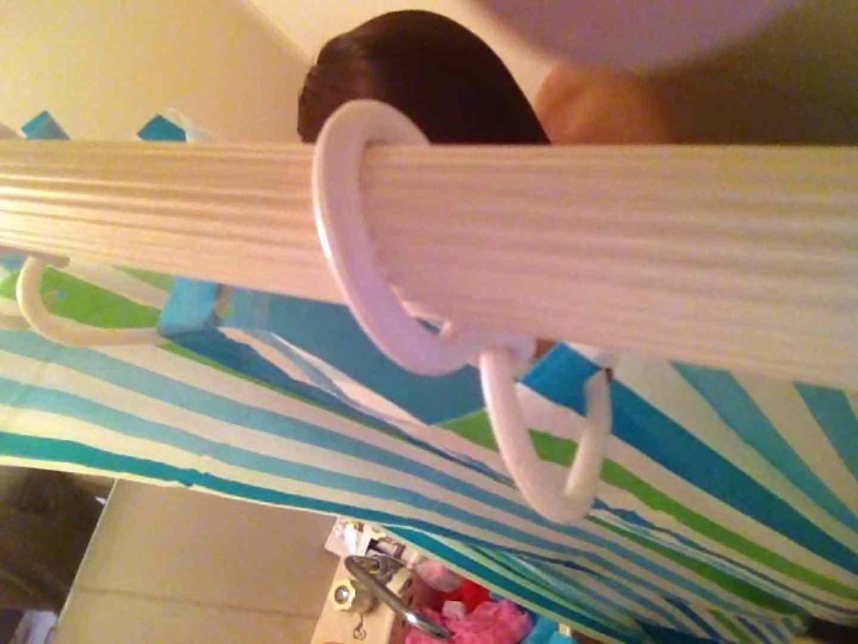 11(11日目)上からシャワー中の彼女を覗き見 覗き | シャワー  95連発 91