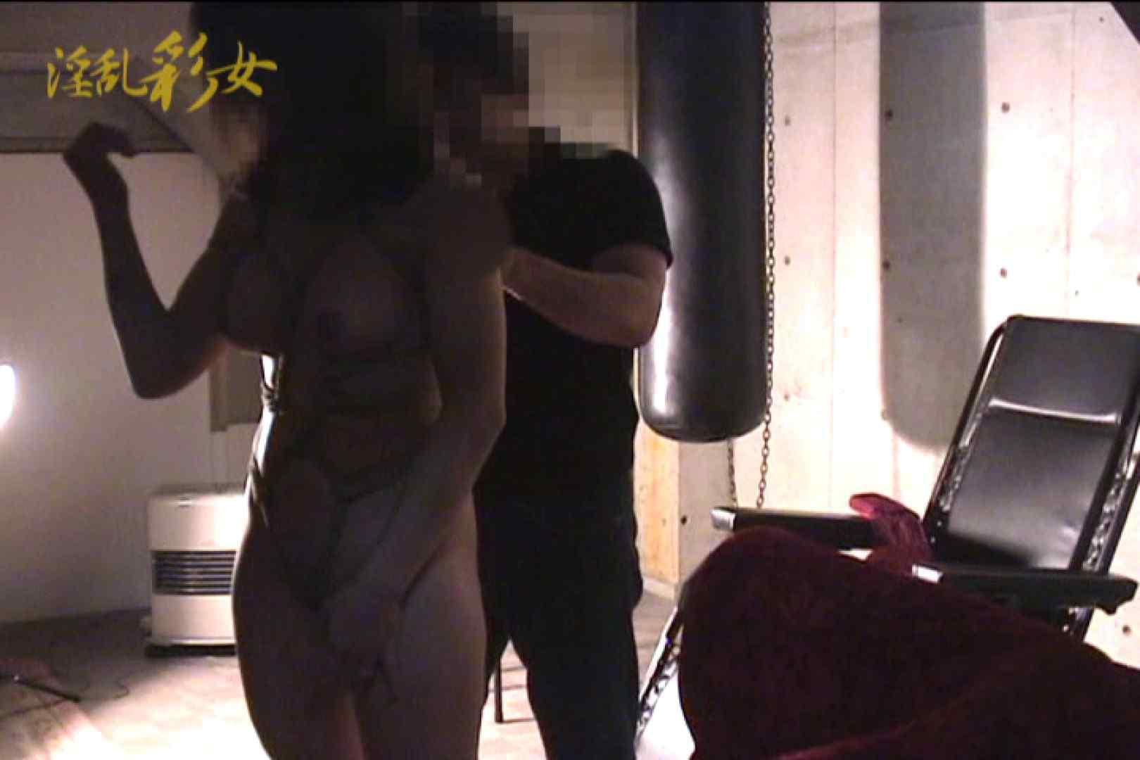 淫乱彩女 麻優里 スタジオで撮影 乳首くっきり ヌード画像 65連発 12